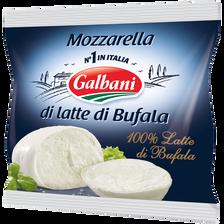 Mozzarela di bufala au lait pasteurisé GALBANI, 24% de MG, 125g