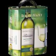 Roche Mazet Vin Blanc Igp De Pays D'oc Sauvignon Roche Mazet, Fontaine À Vin De 3l