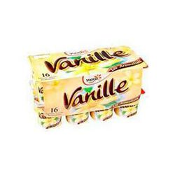 Yaourts aromatisés vanille YOPLAIT, 16x125g