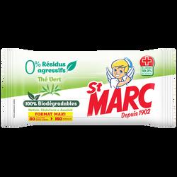 Linget.100%biodégr.0%résidus thé vert ST MARC maxi pack x80