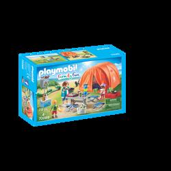 Playmobil Family Fun - Tente et campeurs - 70089 - Dès 4 ans