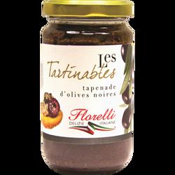 Tapenade olives noires FLORELLI, 190g