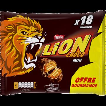 Nestlé Lion Mini Barres Chocolatées - Sachet 350g Offre Gourmande