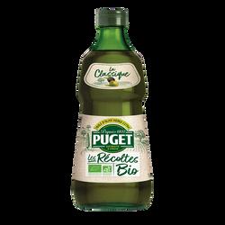 Huile d'olive bio, PUGET, bouteille de 25cl