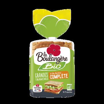 La Boulangère Pain De Mie Bio À La Farine Complete La Boulangere 500g