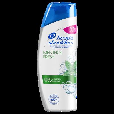 Shampoing au menthol HEAD & SHOULDERS, flacon de 280ml