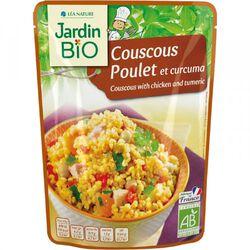 Couscous poulet curcuma Jardin Bio 220g