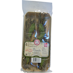 Bouquet garni viande (thym,laurier,romarin), France, barquette 15g