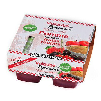 VELOUTE POMME FRUITS R 4*125G