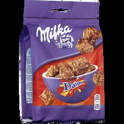 Chocolat au lait aux caramel Daim Snax MILKA, 145g