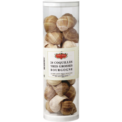 24 coquilles d'escargots Bourgogne ERIC BUR