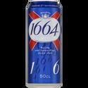 1664 Bière Blonde , 5,5°, Boîte De 50cl