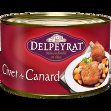 Delpeyrat Civet De Canard Terroir , Boîte De 1,500kg