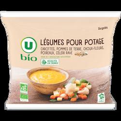 Légumes pour potage U BIO, 600g