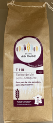 FARINE SEMI-COMPLÈTE T110, 1KG