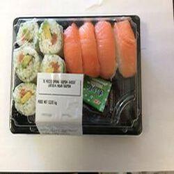 Sushi 6 SPRING SAUMON AVOCAT LAITUE + 4 NIGIRI SAUMON 220g