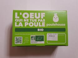 OEUFS GROS BIO x6 - POULEHOUSE