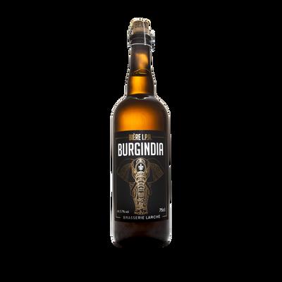 Bière IPA BURGINDIA 5.7°, bouteille de 75cl