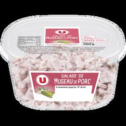 Museau de porc U, 300g