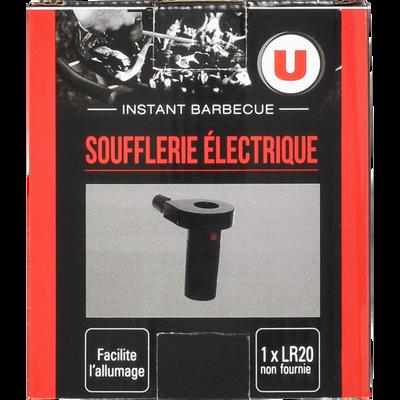 Soufflerie U, électrique