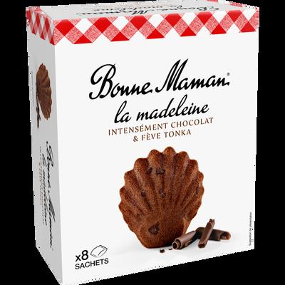 Madeleines chocolat intense BONNE MAMAN, 240g