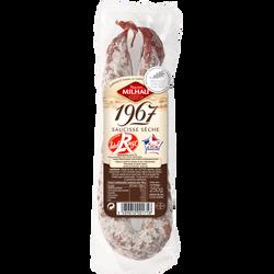 Saucisse sèche label rouge MILHAU, 250g
