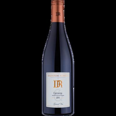 CVT vin rouge AOP Côte du Rhône Cairanne DAUVERGNE RANVIER, bouteillede 75cl