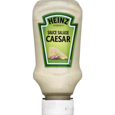 Sauce crudité caesar HEINZ, flacon souple top down 220ml, 225g