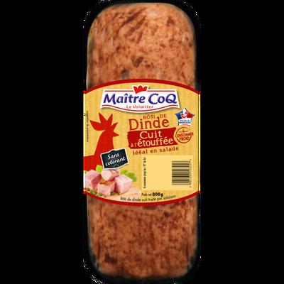 Rôti de dinde cuit, MAITRE COQ, France, 800g
