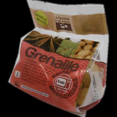 Pomme de terre grenaille, nlle.récolte, de consommation à chair ferme,15/35mm, cat.1, France, sht m/ond.450g