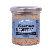 Gastromer Rillettes De Maquereaux À La Moutarde À L'ancienne, Gastromer, 170g