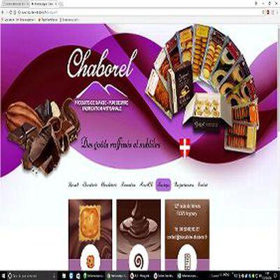 Sablés au chocolat Chaborel, 230g