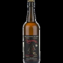 Bière artisanale triple blonde Brigantine, 8°, bouteille de 75cl