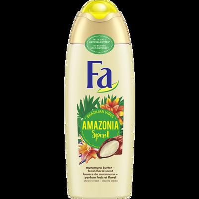Gel douche amazonia spirit  au beurre de murumuru FA, flacon de 250ml