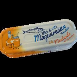 Filets de maquereaux sauce moutarde, 169g