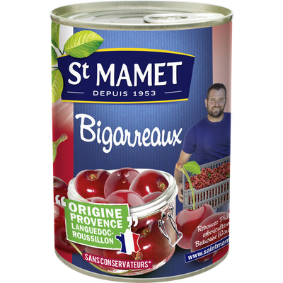 Bigarreaux au sirop ST MAMET, 235g