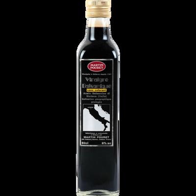 Vinaigre balsamique sans colorant IGP Modène MARTIN POURET, 0,5L