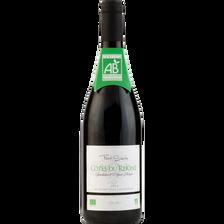 Vin rouge AOP Côtes du Rhône Bio FONT SANTE, bouteille de 75cl