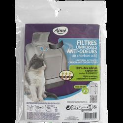 Filtre anti odeur, AIME, x3, 18g