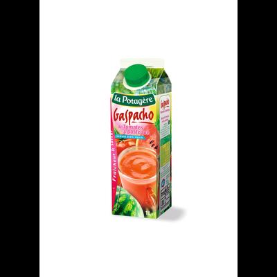 Gaspacho de tomates et pastèques LA POTAGERE, 1 litre