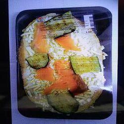 bruschetta Saumon/courgettes