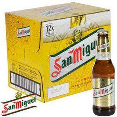 Bière San Miguel 5,4° pack 12x25cl