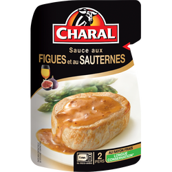 Sauce figues et sauterne, CHARAL, 120g