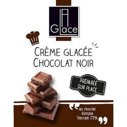 *GLACE CHOCOLAT MAISON 600G