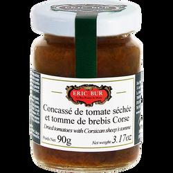 Concasse de tomates séchées et tomates de brebis Corse ERIC BUR, 90g