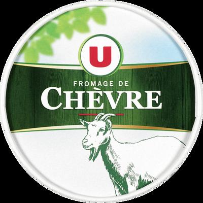 Fromage de chèvre au lait pasteurisé U, 24%MG, 180g