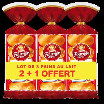 La Fournée Dorée Pain Au Lait La Fournée Dorée, 2x10 + 10 Offerts