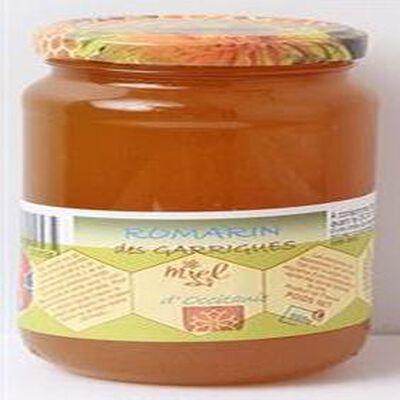 Miel romarin des Garrigues, Les Ruchers des Burons d'Apcher, 500g