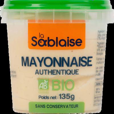 Mayonnaise authentique bio LA SABLAISE, 135g