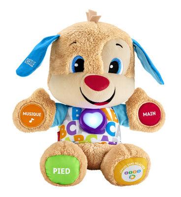 PELUCHE PUPPY EVEIL PROGRESSIF-3 PILES LR6 INCLUSES